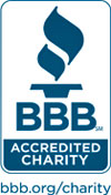 Better Business Bureau Wise Giving Alliance Accredited Charity seal