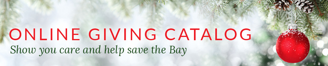 Online Giving Catalog - Show you care and help save the Bay.