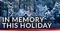 Donation eCard: In Memory this Holiday